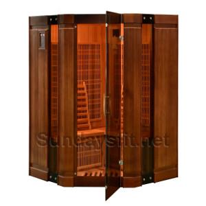 Инфракрасная сауна Corner Duos (тип3)